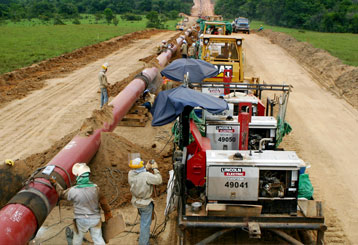 Construction of Pipelines and Gas Pipelines